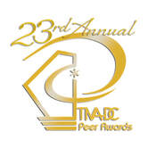 23rd Annual TIVA DC Peer Awards gold logo